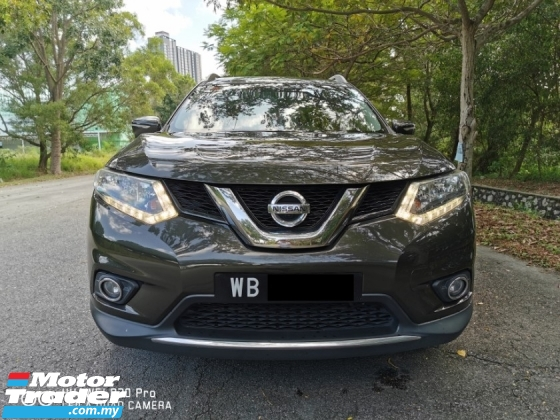 2015 NISSAN X-TRAIL 2.0L (A) CVT - ORIGINAL CONDITION ( FULL SERVICE RECORD TAN CHONG )