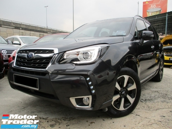 2017 SUBARU FORESTER 2.0 i-p Facelift (A) U/Warranty FreeServices