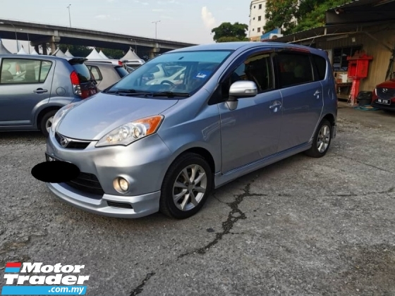2011 PERODUA ALZA ezi 1.5 (A) TRUE YEAR MADE
