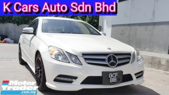 2012 MERCEDES-BENZ E-CLASS E250 C207 Coupe AMG Spec Low Mileage Go With Number 818 Accident Free No Repair Need Original Condition Worth Buy