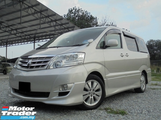 2003 TOYOTA ALPHARD 3.0 MZG 2PDR 7Seat Facelift LikeNEW