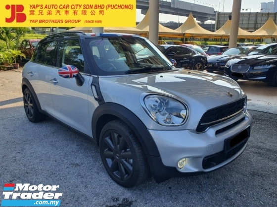 2015 MINI Cooper S  Countryman 1.6 (A) LOCAL