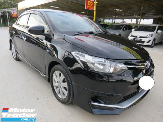 2017 TOYOTA VIOS 1.5 (A) TRD SPORTIVO One Owner Full Bodykit Leather Seat CD DVD Player Push Start Accident Free High Loan Tip Top Condition Must View