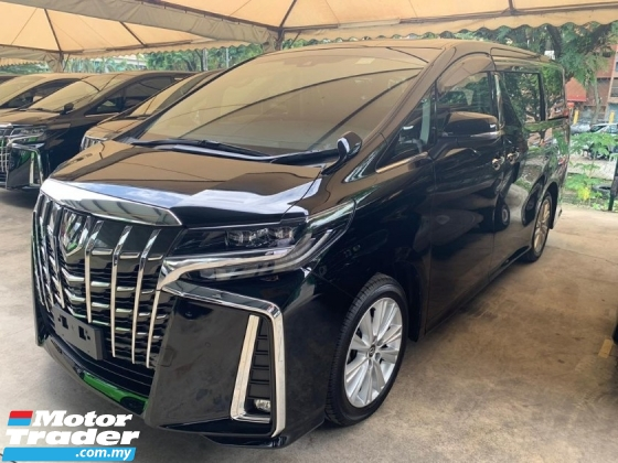 2018 TOYOTA ALPHARD 2.5 SA New Facelift 7Seater 2Pwr Door Pwr Boot 360 Surround Camera Android Player Roof Monitor SST Inclusive No Hidden Information