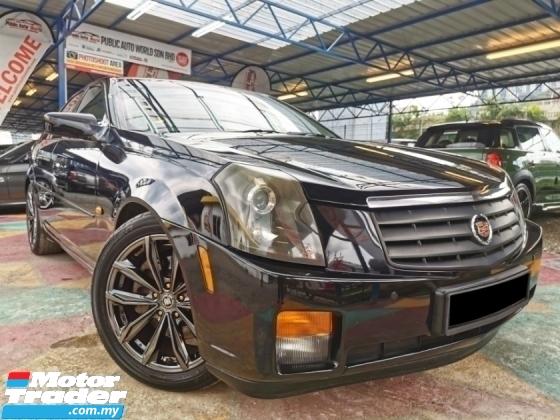 2007 CADILLAC CTS Cadillac CTS Chrysler 3.5 V6 SPRT JAGUAR WRRNTY