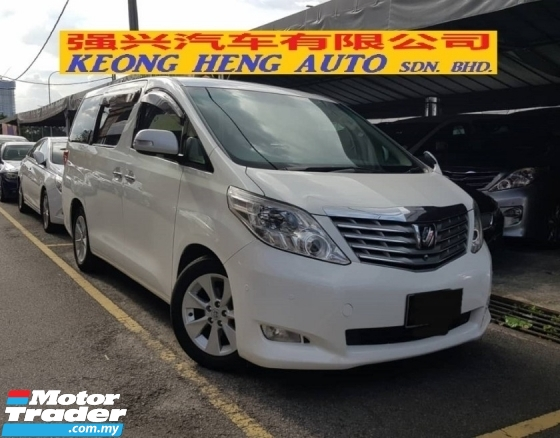 2008 TOYOTA ALPHARD 240S LIMITED