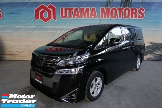 2018 TOYOTA VELLFIRE 2.5 X FACELIFT PRE CRASH LANE KEEP ASSIST POWER DOOR CNY SALE SPECIAL