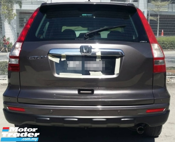 2013 HONDA CR-V 2.0 AT I-VTEC SUV AT (TRUE YEAR MAKE)(ONE OWNER)(LOW MILEAGE)(2 YEAR WARRANTY)