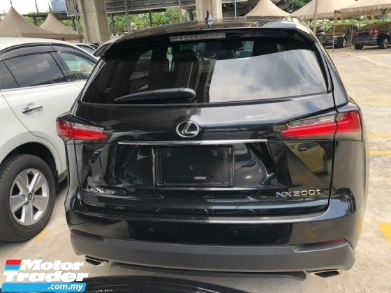 2015 LEXUS NX NX200t F Sport 2.0 Turbo 235hp Pre-Crash Sun Roof Full 3 LED Lights Memory Bucket Seat Keyless-GO Smart Entry Automatic Power Boot Multi Function Paddle Shift Steering Auto Hold Start Stop Engine Dual Zone Climate Control Bluetooth Connectivity Unreg