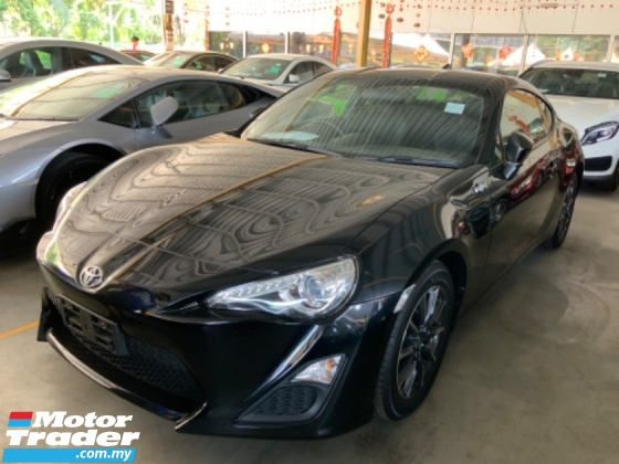 2015 TOYOTA 86 2.0 back camera VSC sport mode traction control 200hp unregistered