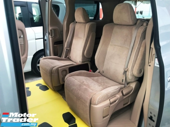 2010 TOYOTA VELLFIRE 2.4V 7 SEATER 2 POWER DOOR 2ELECTRIC SEAT GOOD CONDITION DIRECT OWNER