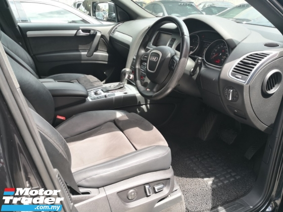2010 AUDI Q7 S LINE TDI Diesel Turbo TRUE YEAR MADE 2010 FREE 2 YEARS WARRANTY Bose Surround Sound 2014