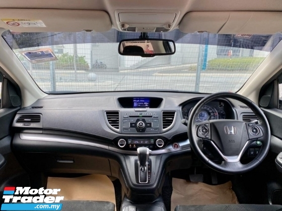 2015 HONDA CR-V SUV 2.0 i-VTEC FULL SPEC (2 YEAR WARRANTY)(TRUE YEAR MAKE)(LOW MILEAGE)(ONE OWNER)