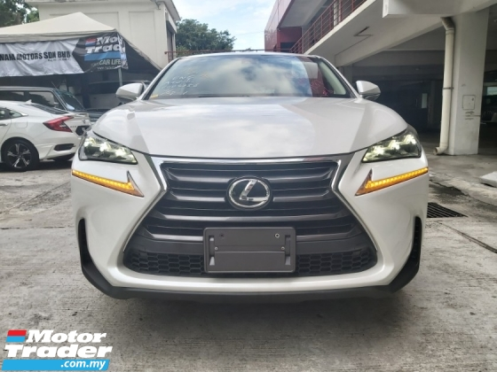 2015 LEXUS NX 200
