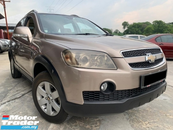 2009 CHEVROLET CAPTIVA 2.4 PETROL AWD (A) 2020 NEW YEAR OFFER ! WELCOME CASH BUYER !