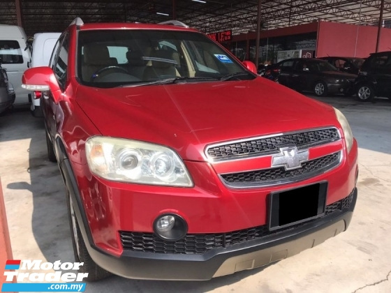 2010 CHEVROLET CAPTIVA 2.4 PETROL AWD (A) OFFER OFFER ! FREE ONE YEAR WARRANTY ! TIP TOP CONIDITION !