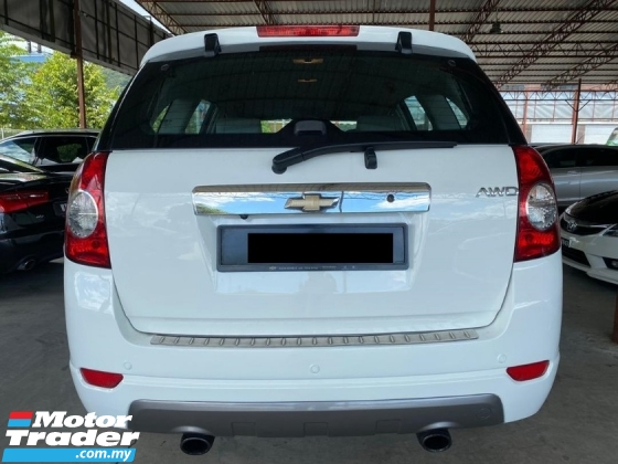 2012 CHEVROLET CAPTIVA 2.0 DIESEL AWD (A) FREE ONE YEAR WARRANTY ! VERY WELL CONDITION ! OFFER