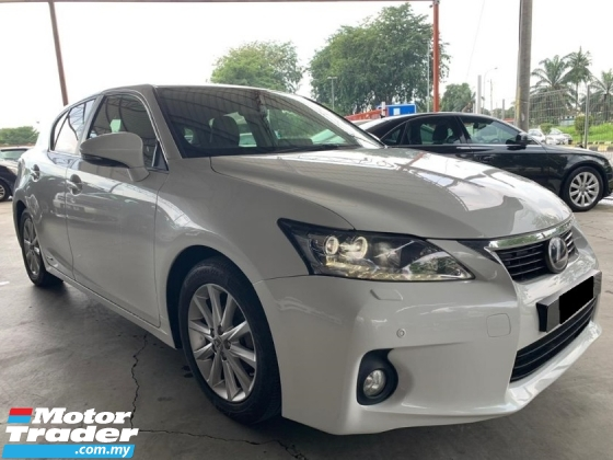 2011 LEXUS CT200H HYBRID LUXURY (A) VERY WELL CONDITION ! FREE ONE YEAR WARRANTY ! (T&C)