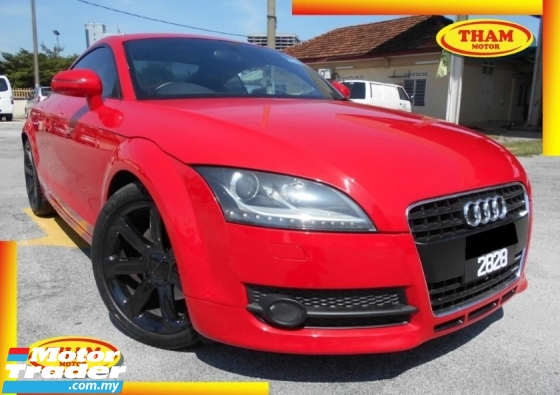 2009 AUDI TT 2.0 TFSI FACELIFT LED DAYLIGHT COUPE S-LINE 100% ACCIDENT FREE LOW MILEAGE LIKE NEW