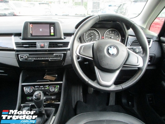 2016 BMW 2 SERIES 218i Active Tourer 1.5 (M) F/S/Record U/Warranty