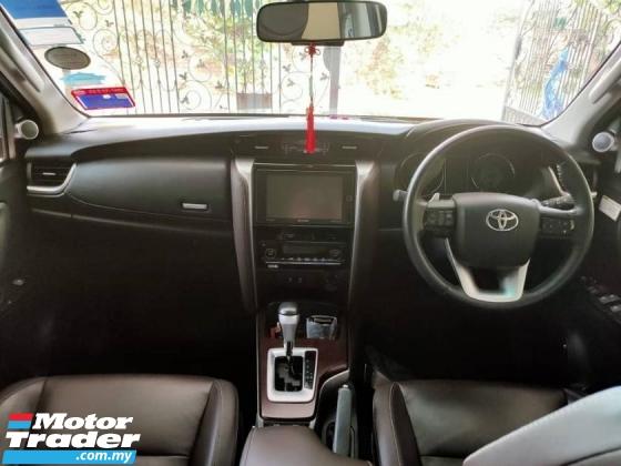 2017 TOYOTA FORTUNER Toyota Fortuner 2.7 SRZ PETROL ( Auto )
