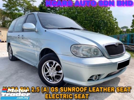 2004 NAZA RIA 2.5 GS FULL SPEC SUNROOF LEATHER SEAT