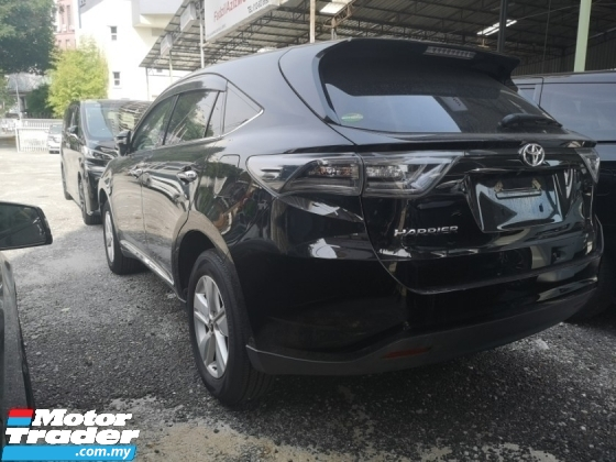 2015 TOYOTA HARRIER 2.0 ELEGANCE/FREE 5 YEARS WARRANTY/SHOWROOM CONDITION