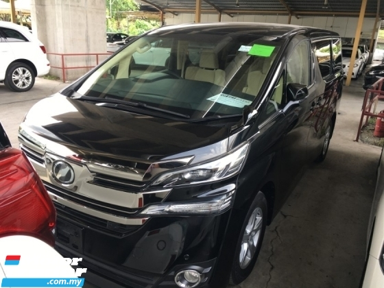 2015 TOYOTA VELLFIRE 2.5X SPEC LARGE FAMILY MPV 8 SEAT POWER BOAT 360 CAMERA 2WD