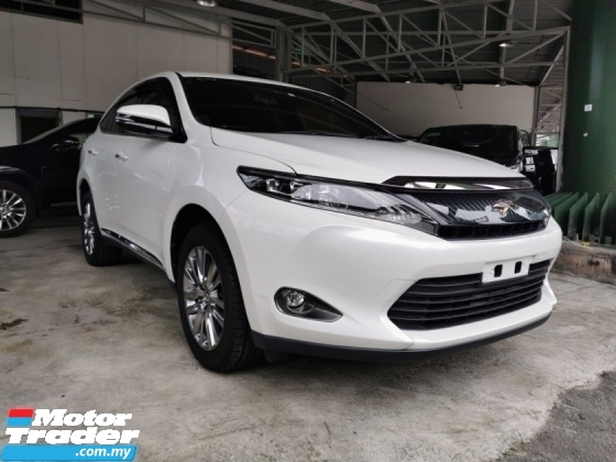 2015 TOYOTA HARRIER PREMIUM 2.0 / POWER BOOT / 5 YEARS WARRANTY UNLIMITED KM / READY STOCK NO NEED WAIT