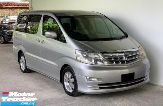 2008 TOYOTA ALPHARD 3.0 V6 (A) Facelift High Spec Model