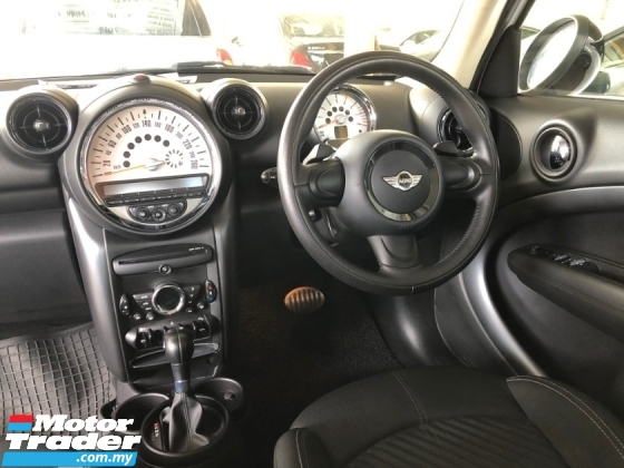 2014 MINI Countryman Cooper S 1.6 Turbo 184hp 6-Speed Shift-Tronic Project Bi-Xenon Lights S-Paddle Shift Steering Bucket Seat Dual Zone Climate Control Pilot Handbrake Unregistered