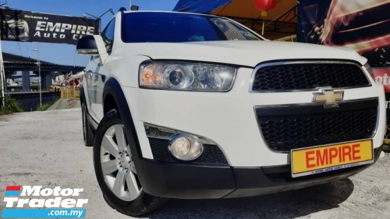 2012 CHEVROLET CAPTIVA 2.4 L (A) ECO TEC !! PREMIUM 7 SEATERS SUV !! AWD !! CBU !! NEW FACELIFT LIMITED EDITION !! PREMIUM FULL HIGH SPECS !! ( WXX 3546 ) 1 CAREFUL OWNER !!