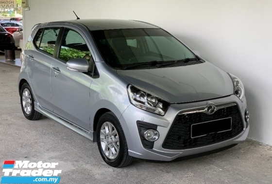 2016 PERODUA AXIA 1.0 AV Auto High Spec Model 7000KM Mileage Done Only