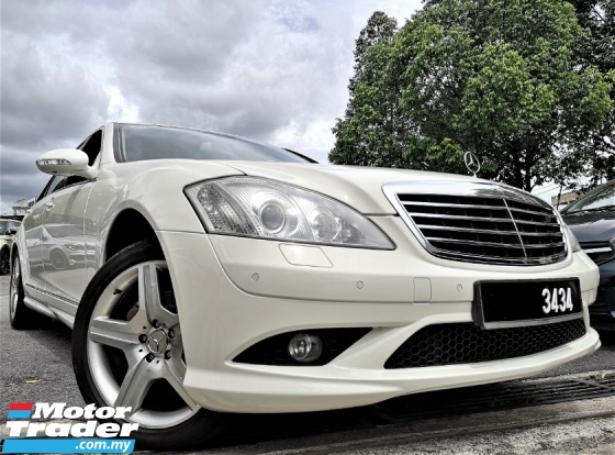 2009 MERCEDES-BENZ S-CLASS S300L 3.0 AMG Sedan [CKD LOCAL SPRC][ONE OWNER][TIP-TOP CONDITION][PROMOTION] 09