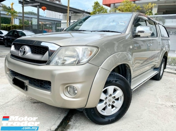 2008 TOYOTA HILUX DOUBLE CAB 2.5G (MT)Pickup Truck(TRUE YEAR MAKE)(LOW MILEAGE)(ONE OWNER)(2 YEAR WARRANTY)