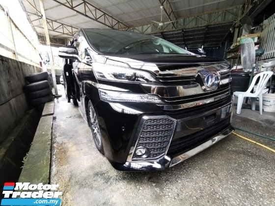 2016 TOYOTA VELLFIRE 2.5 ZG / SUNROOF / ALPHINE / READY STOCK OFFER / 5 YEARS WARRANTY UNLIMITED KM