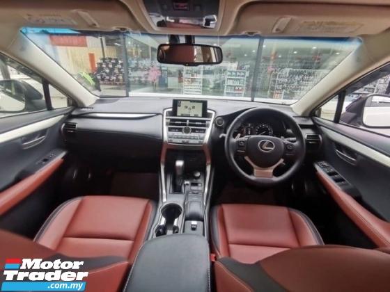 2017 LEXUS NX 200t 2.0T (UNREG) 17 RED INT 20UNITS Lexus NX200 NX200t 2.0 T LUXURY