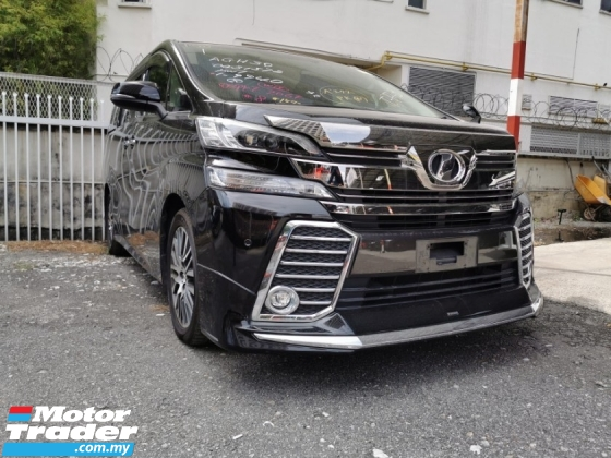 2015 TOYOTA VELLFIRE 2.5 ZG / JAPAN MODELISTA / SUNROOF / READY STOCK OFFER / 5 YEARS WARRANTY UNLIMITED KM