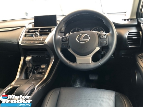 2014 LEXUS NX NX200 NX200t 2.0 Turbo Version Luxury Intelligent Full LED Lights Memory Full Leather Seats Multi Function Paddle Shift MMi Touch Pad Smart Entry Power Boot Rear Auto Seats Climate Control Hold System Bluetooth Reverse Camera Unreg