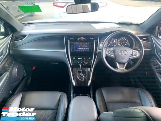 2018 TOYOTA HARRIER 2.0 Unregister Panoramic Roof 360 Surround Camera Power Boot Black Interior New Car Condition SST Inclusive