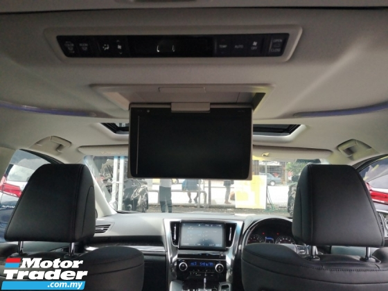 2018 TOYOTA ALPHARD Toyota Alphard SC With Sunroof And Roof TV.