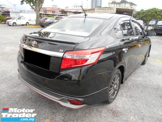 2014 TOYOTA VIOS 1.5G (AT) SPORTIVO LIMITED BEST CONDITION 1 MALAYSIA LIKE NEW ACCIDENT FREE LOW MILEAGE