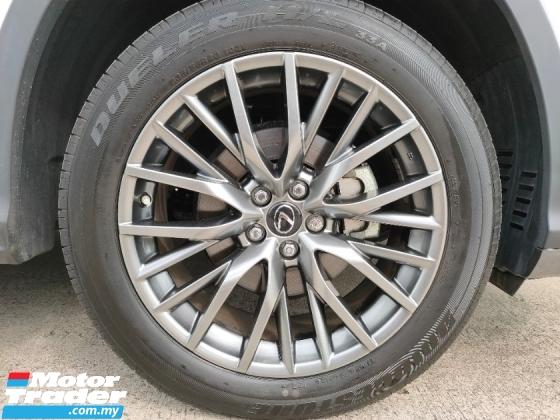 2017 LEXUS RX 2017 Lexus RX200T F Sport RED Leather Power Boot HUD Pre Crash 3 LED Unregister for sale