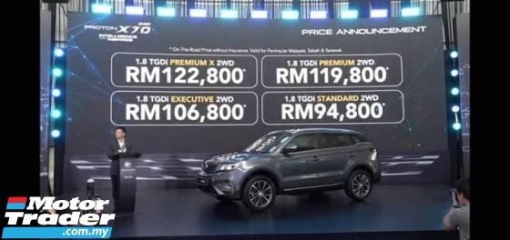 2020 PROTON X70 Premium X