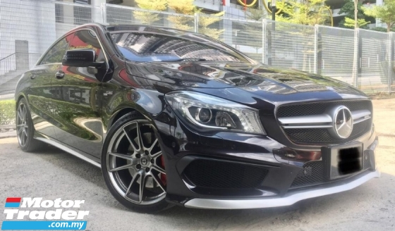 2014 MERCEDES-BENZ CLA 45 AMG SPORT 2.0 4MATIC (TRUE YEAR MAKE)(LOW MILEAGE)(ONE OWNER)(2 YEAR WARRANTY)