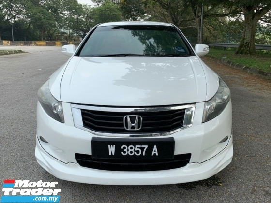 2011 HONDA ACCORD 2.4 VTI-L (A) Original Leather Seat Full Set Bodykit TipTop Condition View to Confirm