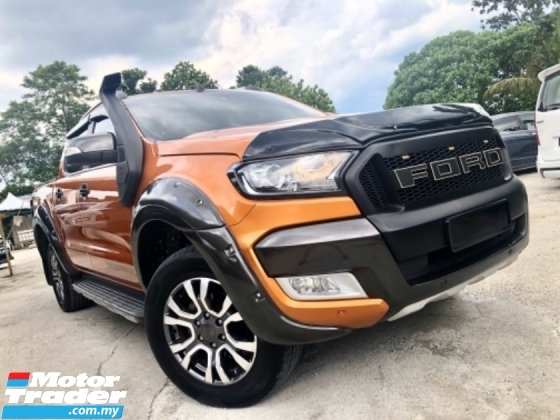 2016 FORD RANGER 3.2 WILDTRACK (A) 4x4 PICK-UP CAR KING