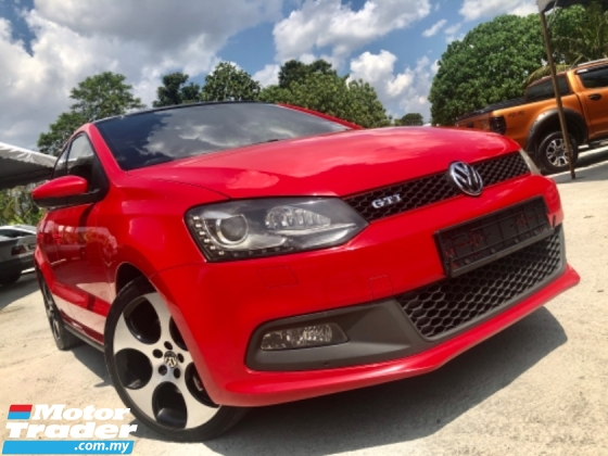 2013 VOLKSWAGEN POLO 1.4 GTI (A) FACELIFT  SUNROOF LIMITED SPORT EDITION