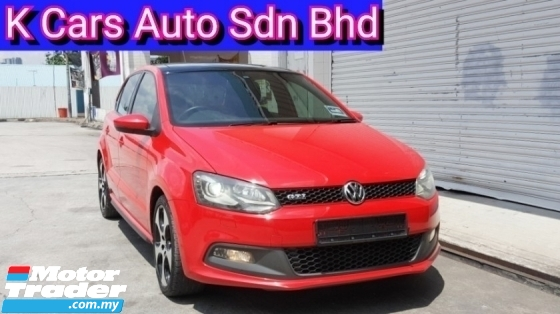2012 VOLKSWAGEN POLO GTI 1.4 5-DOOR (Actual Year) (No Charge Processing Fee) Extend Warranty Until 2021 Keep Like New Car Condition Worth Buy