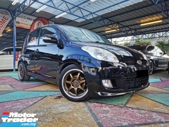 2009 PERODUA MYVI Perodua MYVI 1.0 SPORT F/LIFT LOWERED S/RIMS WRNTY